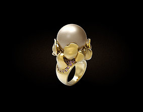 Womens Iris ring 3D printable model