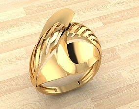 RING 70 wood 3D print model