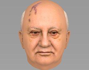 3D model Mikhail Gorbachev