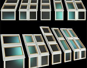 3D model Roof windows Skylights