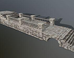 3D asset ruin set