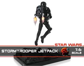 3D printable model Stormtrooper Jetpack 1-6 scale