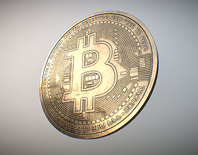 Bitcoin PBR 3D asset