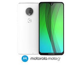 Motorola Moto G7 White 3D
