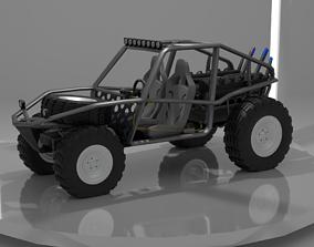 3D asset Dirty Buggy