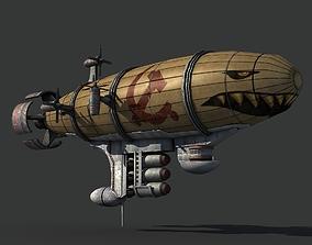 3D model realtime Red Alert Kirov Airship