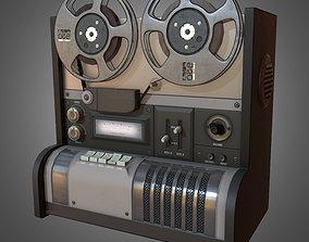 3D asset Reel to Reel Recorder