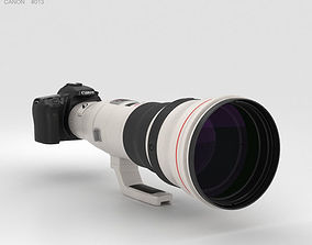 3D Canon EOS 70D with EF 800mm F-5-6L IS USM