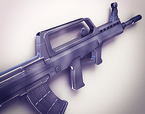 3D QBZ-95 Assault rifle Hi-Res