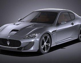 3D Maserati GranTurismo MC Stradale 2016 VRAY