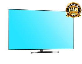 3D model TV LG Super UHD 4K 65 inch