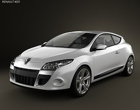 3D model Renault Megane Coupe 2011
