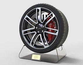 3D model Wheel Rims For Audi Rs6