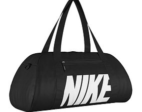 Nike Gym Club Training Duffel Bag Black 3D