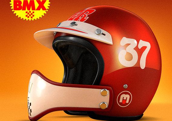 BMX 70s Helmet