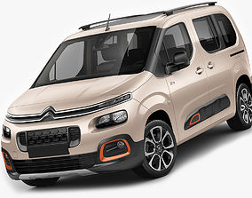 3D model Citroen Berlingo XTR 2019