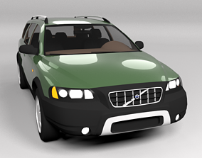 VOLVO XC70 CROSSCOUNTRY LOWPOLY 3D asset
