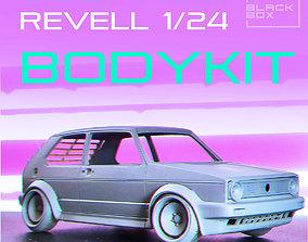 3D printable model GOLF 1 CLP BODYKIT FOR REVELL 1-24