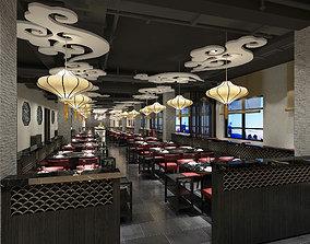 Buffet restaurant 3D