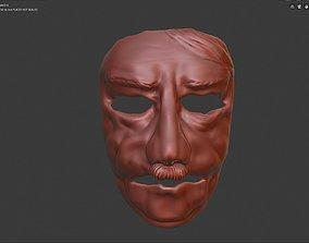 3D print model Opa Adi Carnival face mask