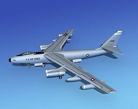 3D Boeing WB-47E Stratojet V01