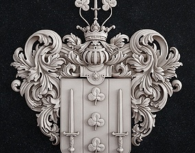 coat of arms 1 3D printable model