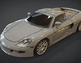 3D model realtime Porsche Carrera GT