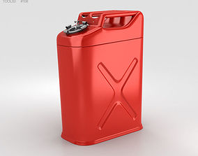 3D 5 Gallon Jerry Gas Fuel Can