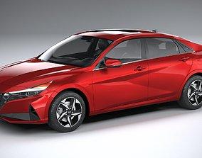Hyundai Elantra 2021 3D