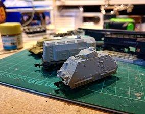 3D printable model ARTILLERIEWAGEN NSize Armored