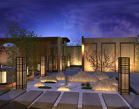 Exterior of Eastern House 3D model