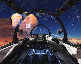 Spaceship Cockpit v4 3D