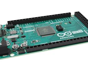 Arduino mega 2560 3D model game-ready microcontroller