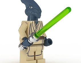LEGO Minfigure Coleman Trebor 3D model