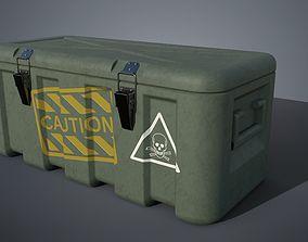 3D Military box ammo