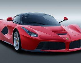 Ferrari LaFerrari 2015 supercar 3D