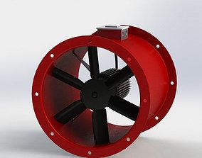 3D model Axial Fan 315mm