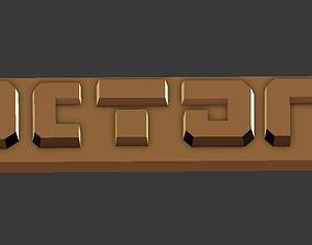 3D printable model Factorio logo