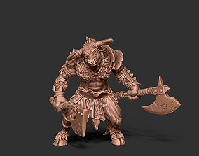 Minotaur - 55mm 3D print model