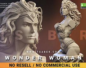 3D printable model Wonder Woman Bust - Zbrush DC Comics 1