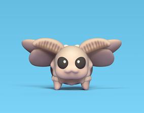 Cute Moth 3D printable model