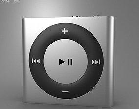 3D asset Apple iPod shuffle