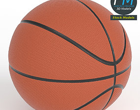 Basketball ball 3D model realtime PBR