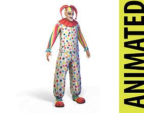 3D asset animated Clown
