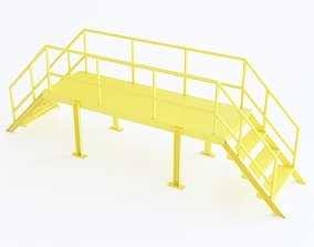 3D model Stairs 03