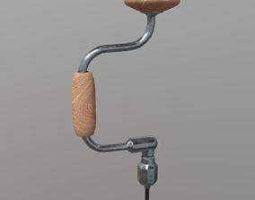 3D asset Hand Drill
