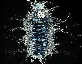 3D Water Splash Bottle 1
