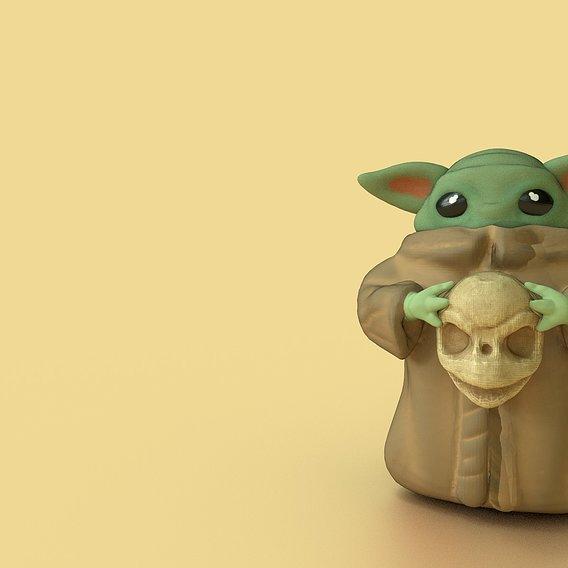 Evil Baby Yoda