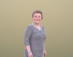 3D asset Barbara 10527 - Walking Best Ager Woman