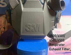3M 6500 Half Respirator Exhaust Valve Filter HALF PRICE 3D